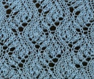 lace zig zag knitting pattern zigzag 2 another lovely lace stitch from www