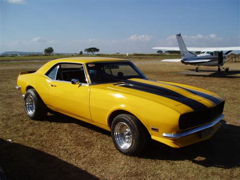 yellow 68 camaro yellow 68 camaro