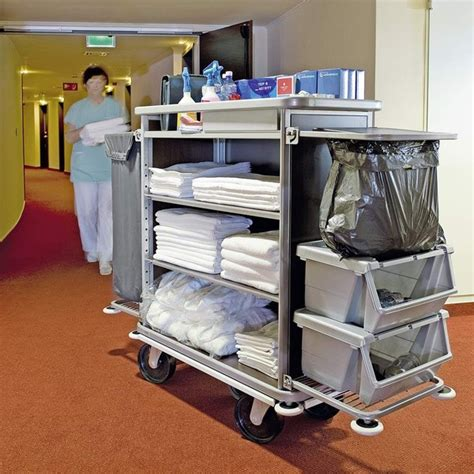 Troli Hotel Trolley housekeeping sop hotel housekeeping trolley or cart