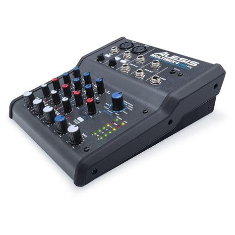 Mixer Fx Usb alesis multimix 4 usb mixer with fx b stock at