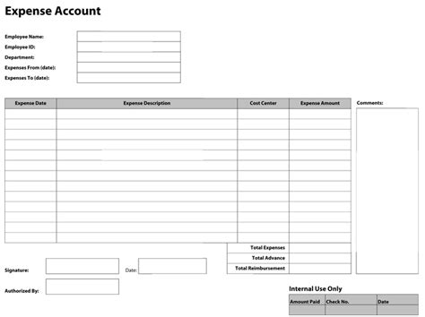 Daily Expense Voucher Template Templates Resume Exles V0a2on2yr4 Expenditure Form Template