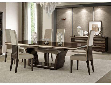 modern dining table set giorgio italian modern dining table set