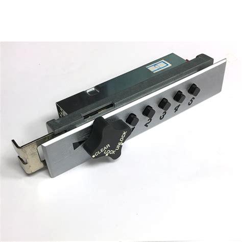 D900 Push Button Mechanical Keyless Cabinet Lock With Knob