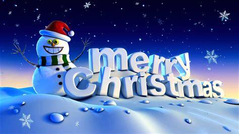 merry christmas winter snow snowman holidays greeting card hd wallpaper  wallpaperscom