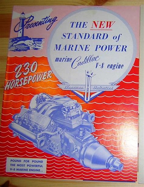 origin of the name cadillac cadillac crusader v8 marine engine and transmission