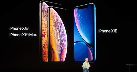 apple iphone xs xs max and xr launched at event in california