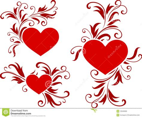 s day designs hearts s day design background stock vector illustration 12045990