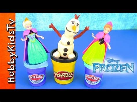 film mlp play doh play doh disney movie frozen surprise toy eggs olaf elsa