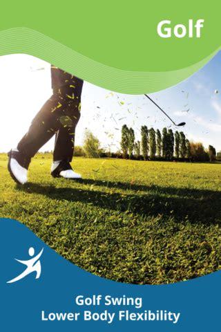 Golf Swing Lower Body Flexibility Easyflexibility