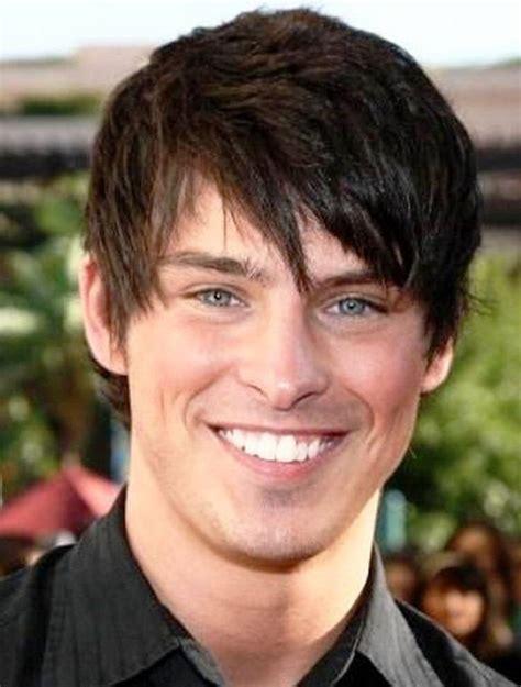 boys short hairstyles round face medium length haircuts for men hair styles pinterest