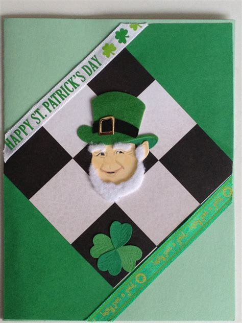 Handmade With St - handmade patrick s day card
