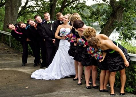 cute themes for weddings fun bridal party poses wedding pinterest