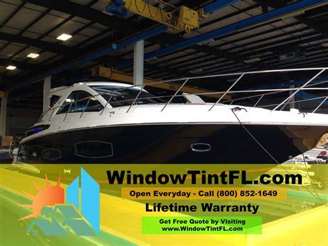 boat windshield miami boat window tinting in miami florida florida window tint