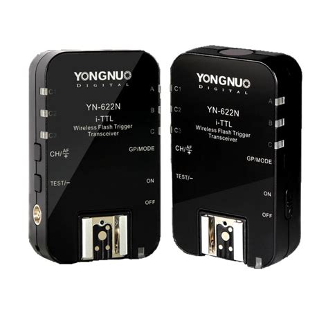 Yongnuo Flash Trigger Yongnuo Yn 622n Yn 622 Wireless I Ttl Ittl Hss 1 8000s Flash Trigger 2 Transceivers For Nikon