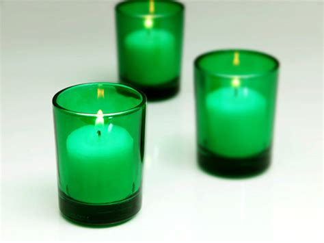 green votive holders cudge net green votive candle holders of 72