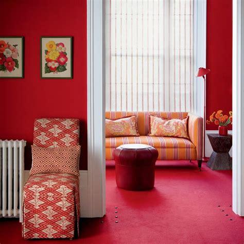 red livingroom rich red living room living rooms living room ideas