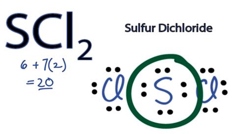 sulfur lewis dot diagram scl2 lewis structure how to draw the lewis structure for