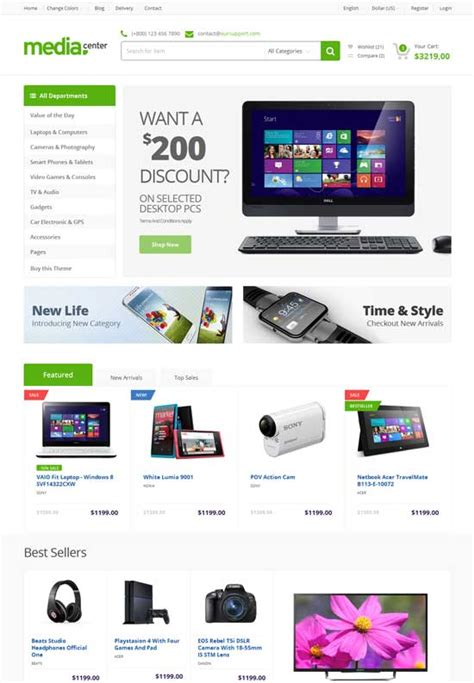 Html Template Ecommerce Website 50 Best Ecommerce Website Templates Free Premium Freshdesignweb Best Ecommerce Template