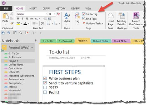 Onenote To Do List Template Free To Do List Onenote To Do List Template