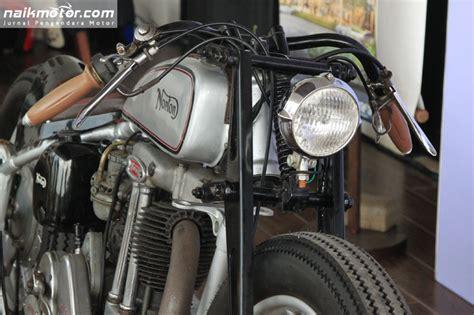 film petualangan motor norton es2 custom lonely boy drag tracker sentuhan derby