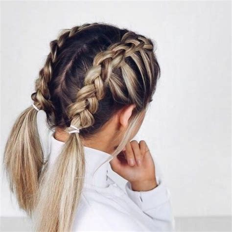 plait hairstyles for short hair short braids primp pinterest short braids shorts