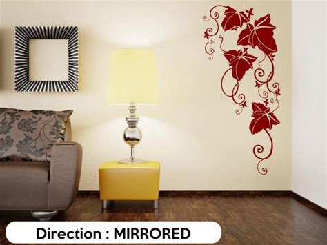 large vine wall decal wall stickers store uk shop