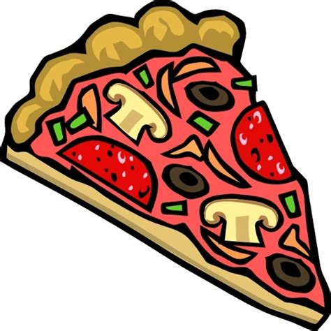 clipart animate animated picture of pizza clipart best