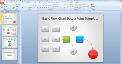 how to build a powerpoint template presentation chart templates how to make a flowchart in