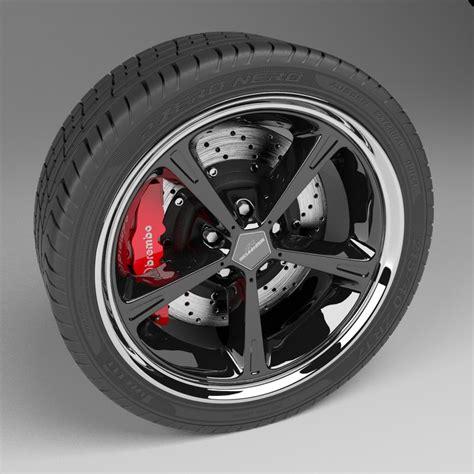 Scheibenrad Auto by 3dsmax Car Wheel Disc Brake