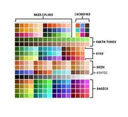 minecraft color schemes 像素画色板收集帖 171 点阵 分享 学习像素画
