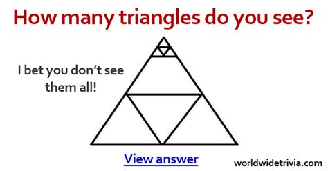 Can See When You Search Them On How Many Triangles Do You See In This Image