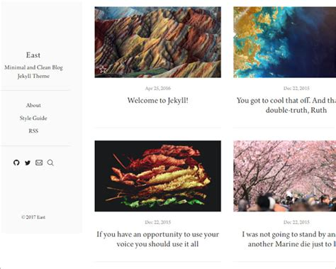 jekyll layout for blog 21 jekyll themes templates free blogger templates