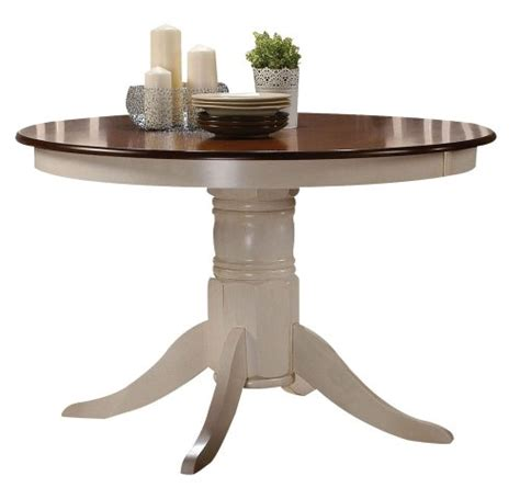 Best Finish For Dining Table by Acme 70330 Dining Table Buttermilk And Oak Finish