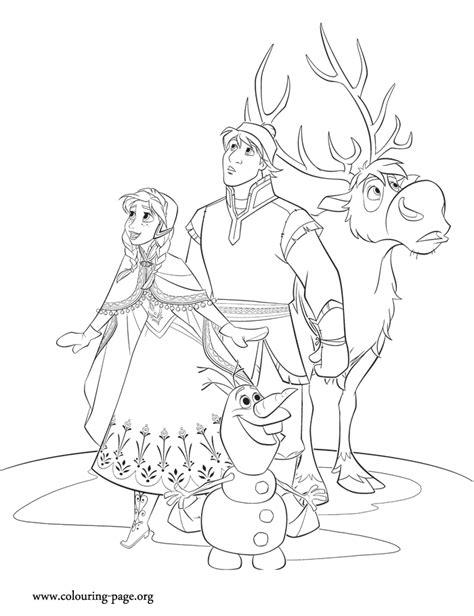 coloring pages frozen christmas frozen thema tekenen kleurplaten disney pinterest