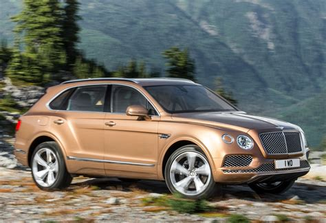 2016 Bentley Bentayga Suv Interior Price Photos