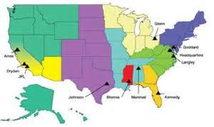 nasa center assignments by state nasa