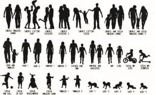 personalised family silhouette papercut or print by the