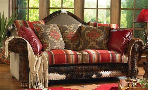 Southwestern Sofas by Sawtooth Serape Upholstery Southwestern Style Sofa Http
