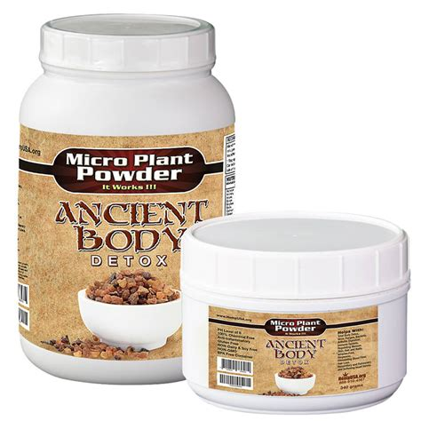 Ancient Detoxing by Micro Plant Powder Ancient Detox Hempusa