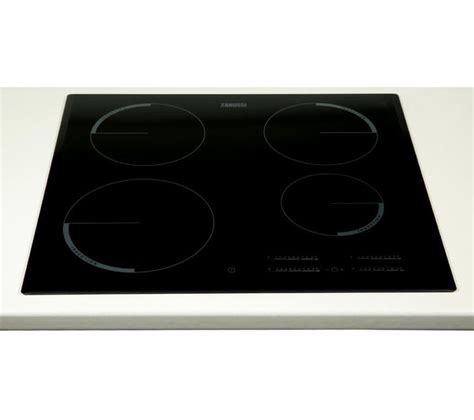 buy zanussi zei6740bba electric induction hob black free delivery currys