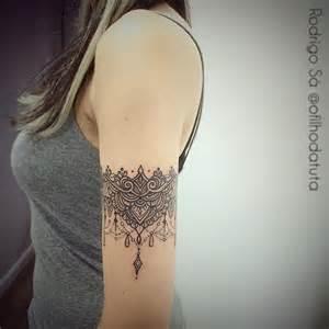 25 melhores ideias sobre tatuagem em renda no pinterest