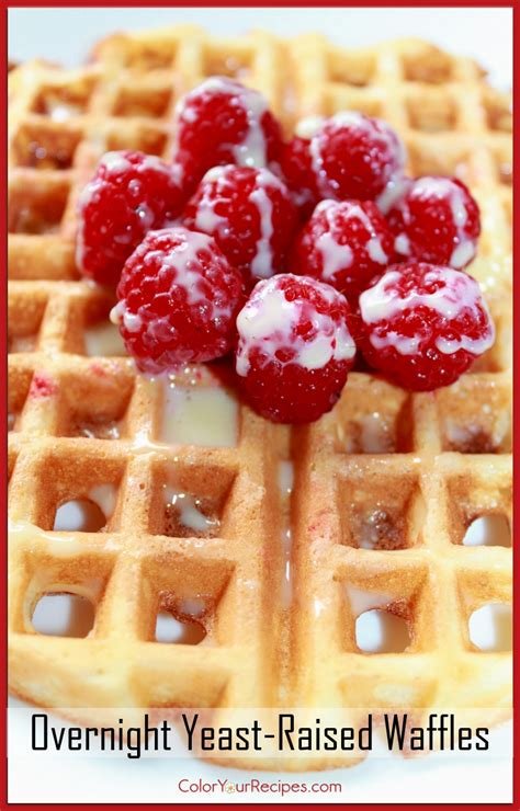 waffles color overnight yeast raised waffle recipe color your recipes