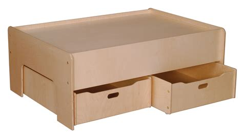 Play Table With Storage by Play Table With Storage Drawer Set