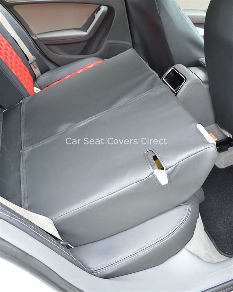 audi seat covers with logo audi a4 seat covers black leatherette with
