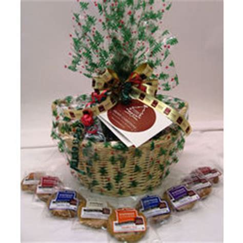 christmas sugar free gourmet cookie gift basket findgift com