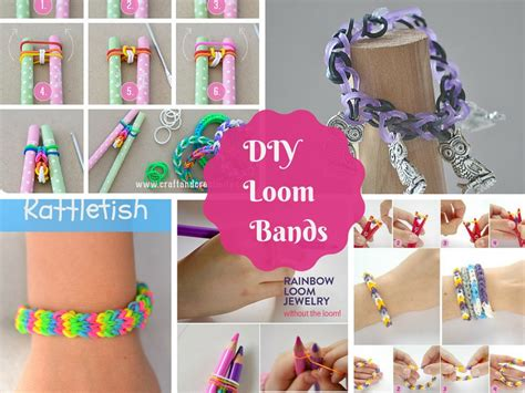 how to make loom bands with 7 great diy tutorials on how to make loom bands part 1