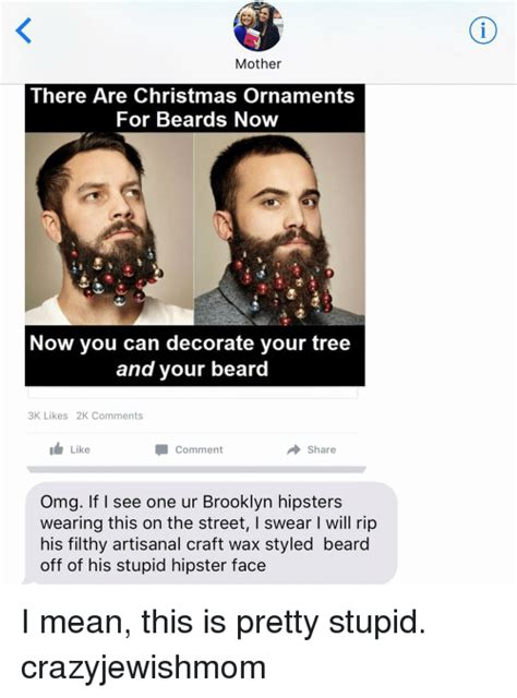 you can now decorate your hipster beard for christmas 25 best memes about beard and jewish beard and jewish memes