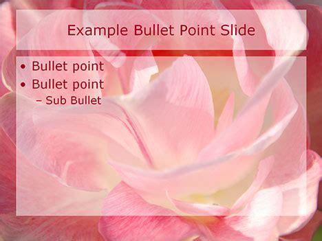 powerpoint templates free romantic romantic flowers powerpoint template