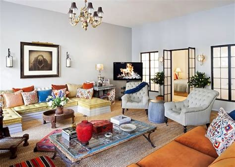 New York Style Living Room by How To Achieve An Eclectic Style