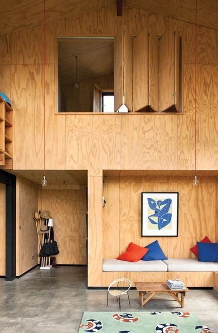 modern interior design ideas blending plywood